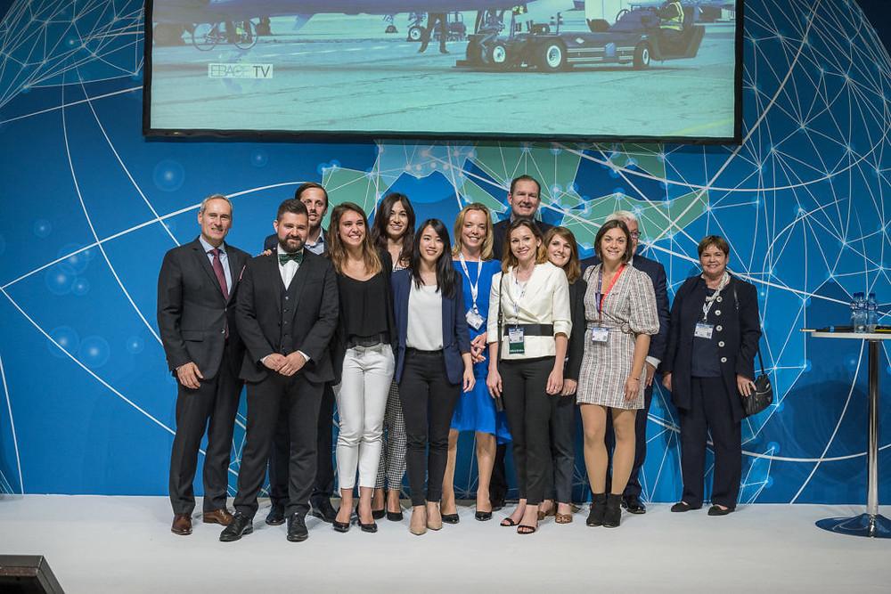 EBAA Ambassadors and Business Aviation leaders at EBACE 2019