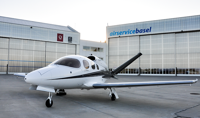 Air Service Basel is the first fully authorized Cirrus Service Center for Vision Jet SF50 in Europe.