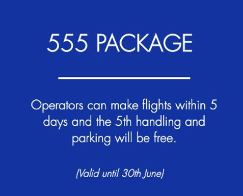 Air Service Basel launches '555' promotion to help operators during the coronavirus pandemic.