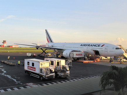 Air France B777-200 Business Class Review Tahiti PPT to LAX