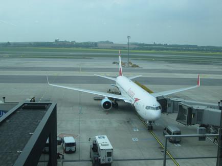 Austrian Airlines B767 Business Class Review VIE to Washington IAD
