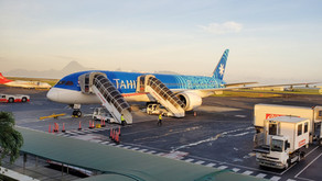 Air Tahiti Nui B787 Business Class Review LAX to Papeete, Tahiti