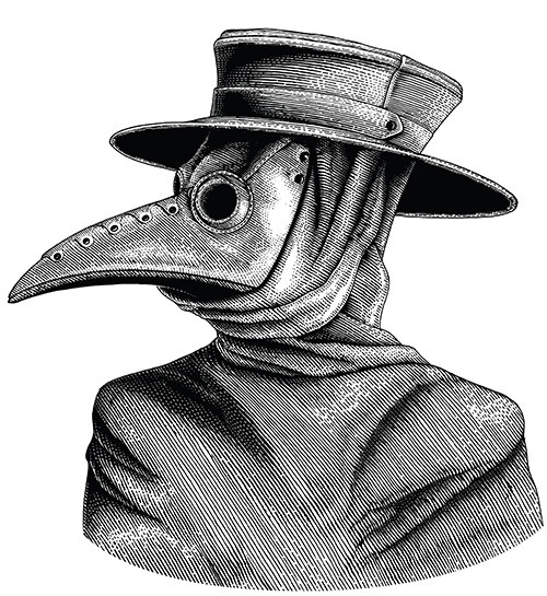 PPE During the Bubonic Plague