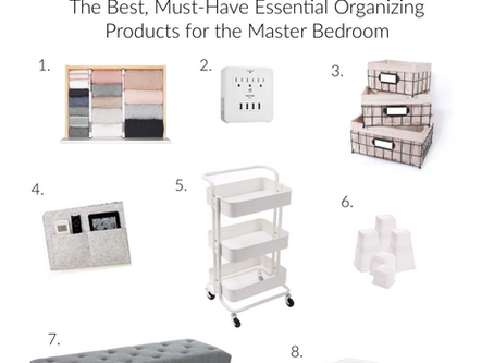 My Top 8 Must-Have Master Bedroom Organizers