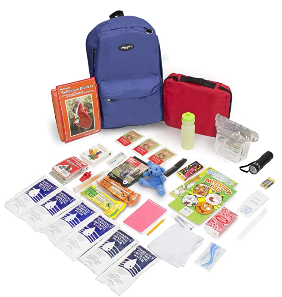 Kids Emergency Backpack with Supplies