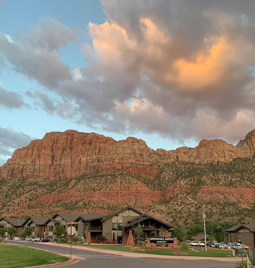 Springhill Suites Marriott in Springdale Utah near Zion