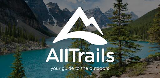 AllTrails App Outdoors Hiking Logo