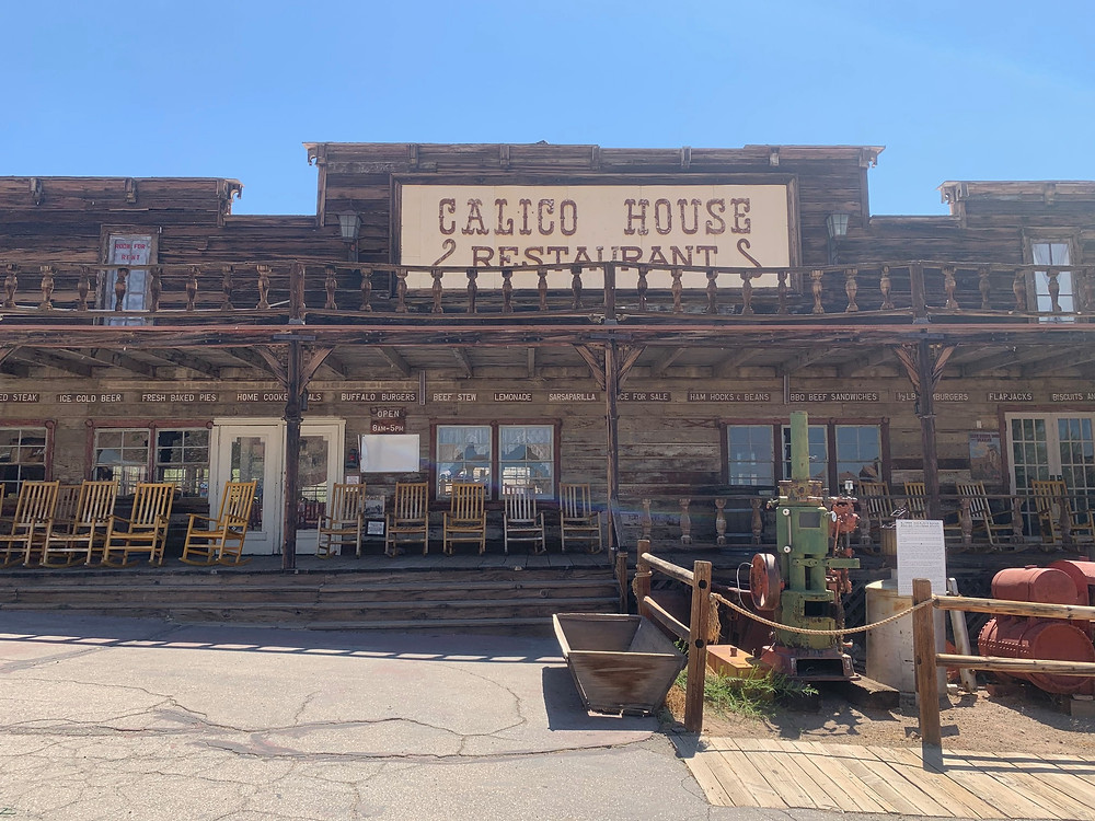 Calico Ghost Town House Restaurant