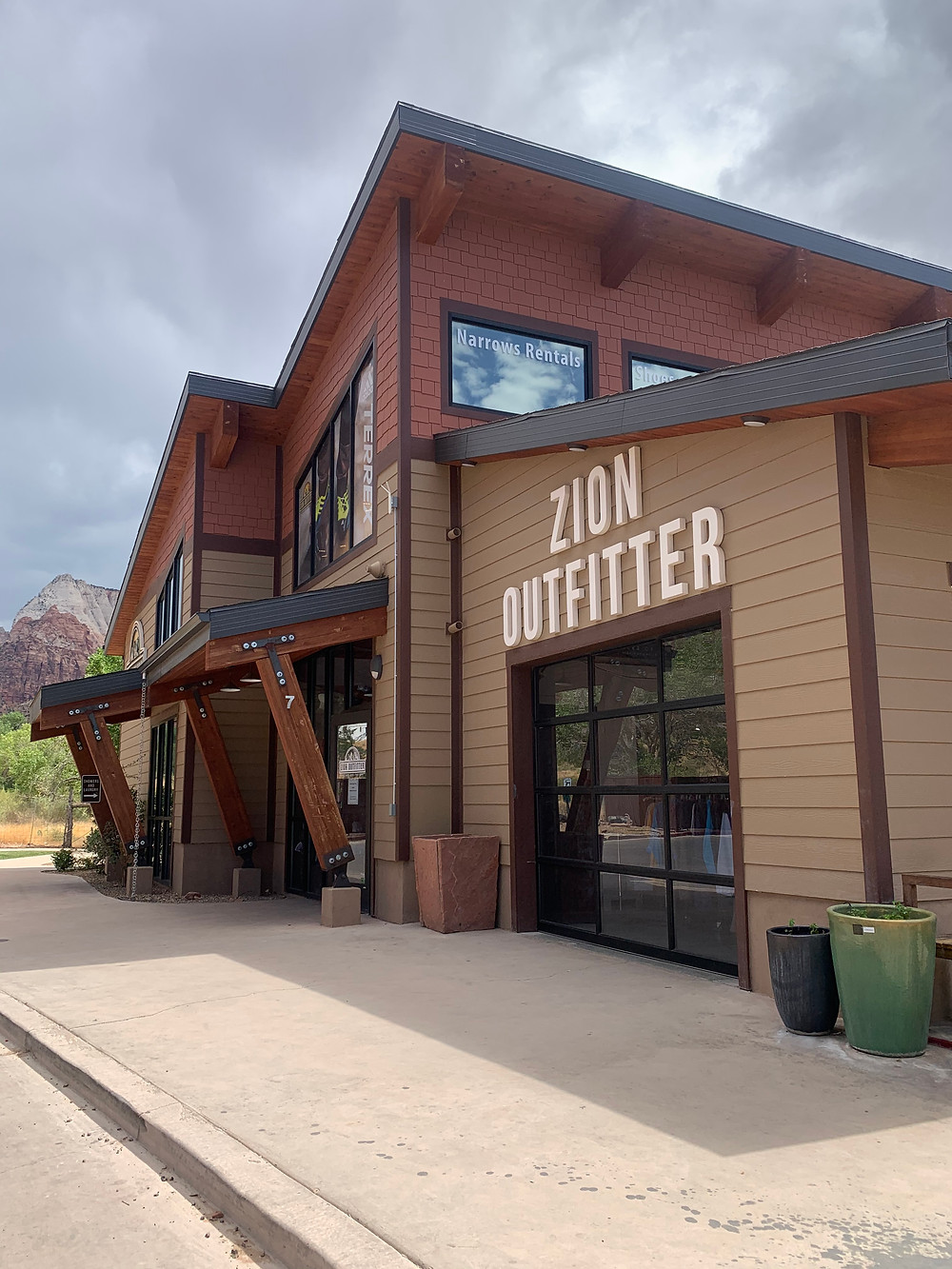 Zion Outfitter in Zion National Park Utah