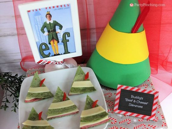 Buddy the Elf Sandwiches
