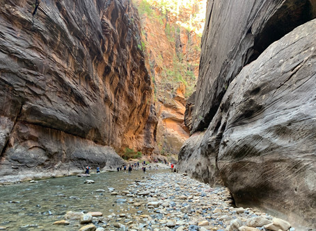"""The 9 Essential, Must-Know Tourist Tips for Hiking """"The Narrows"""" in Zion National Park, Utah"""