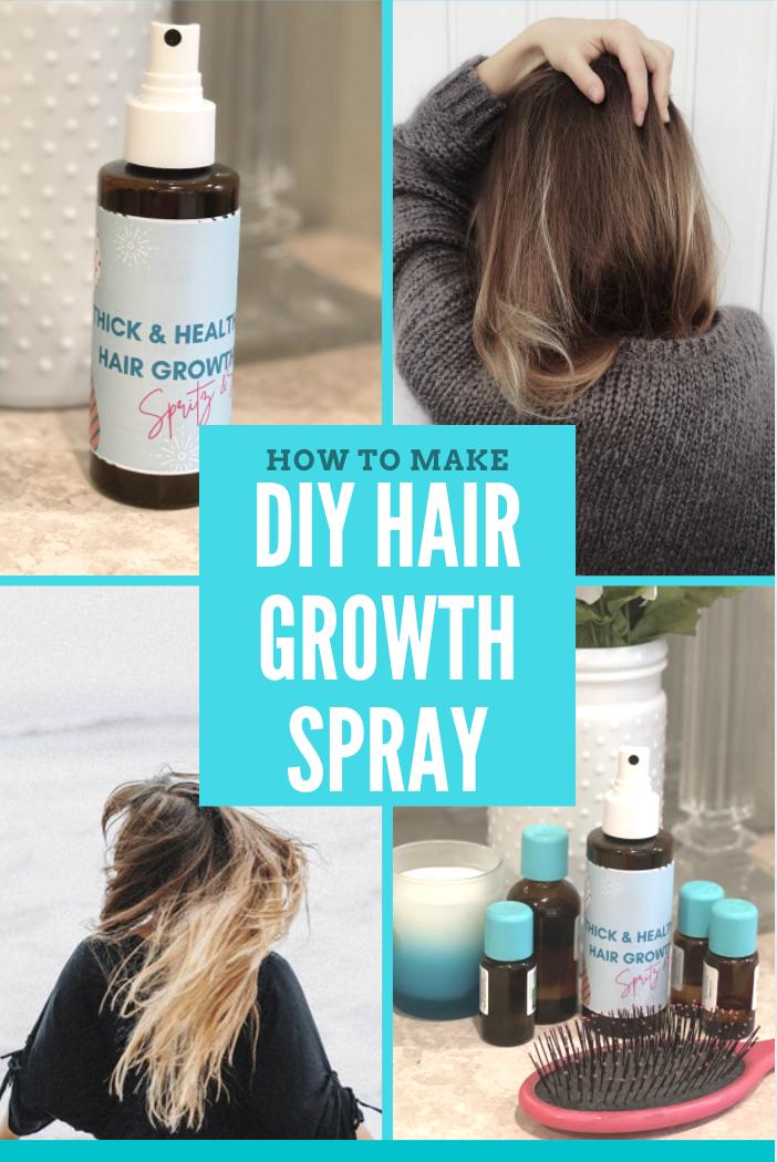 How to Make DIY Hair Growth Spray