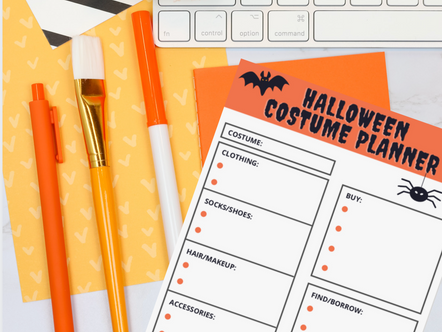 How to Create Your Best Halloween Costume Ever with a Free Printable Planning Worksheet