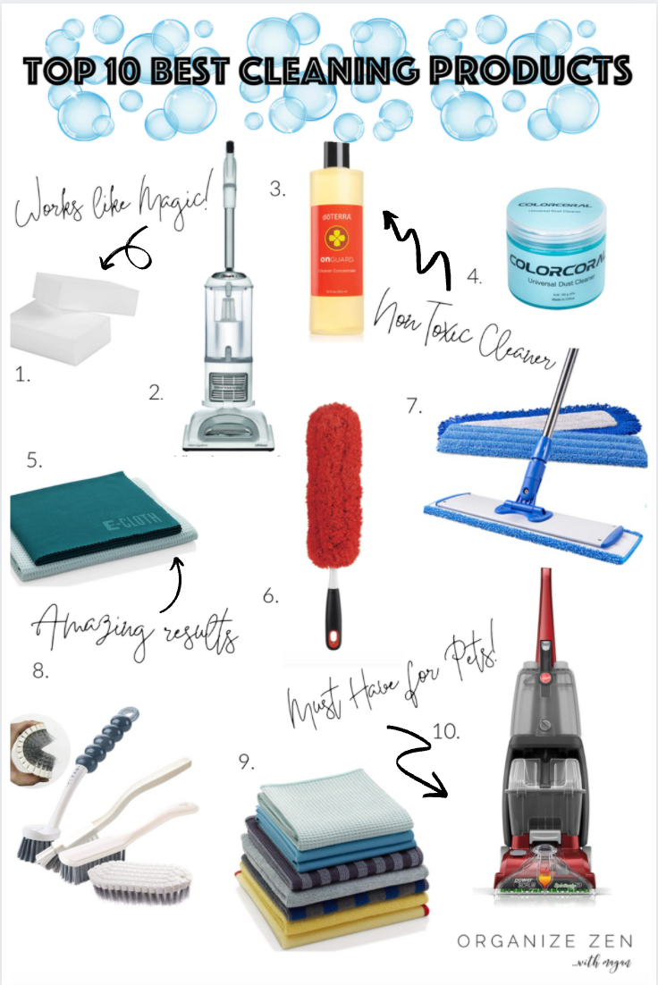 Top 10 Genius Cleaning Products