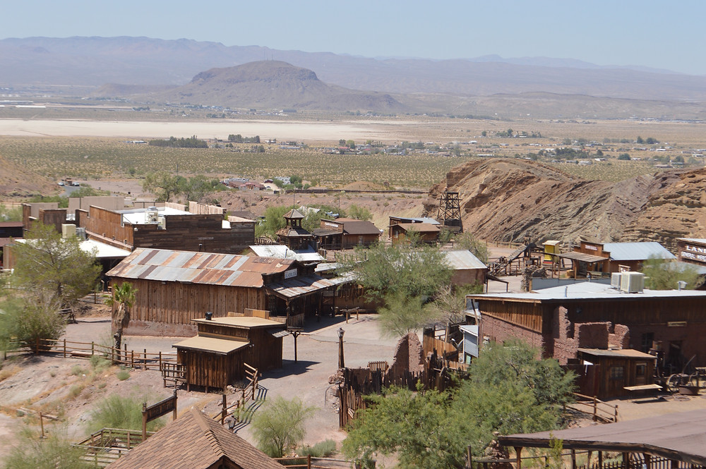 Calico Ghost Town in Yermo California