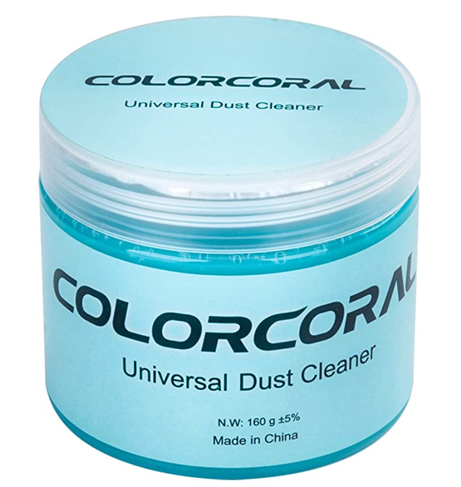 Blue cleaning putty dust cleaner gel