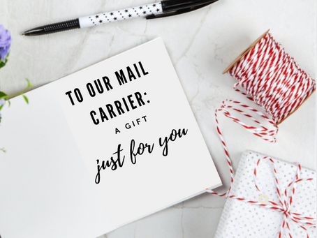 How to Spread MORE Holiday Cheer to the Mailman…An Inexpensive, Easy Gift for Your Mail Carrier