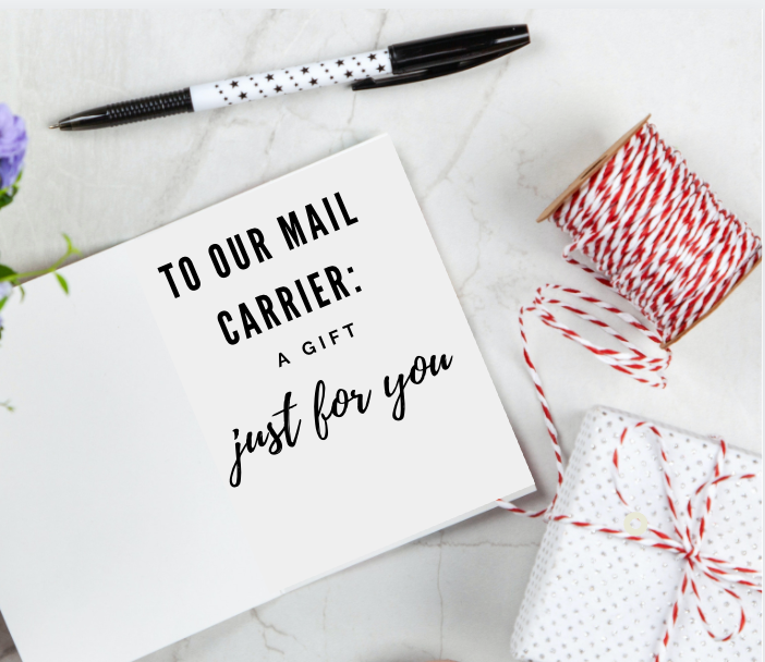A Christmas Gift for the Mail Carrier