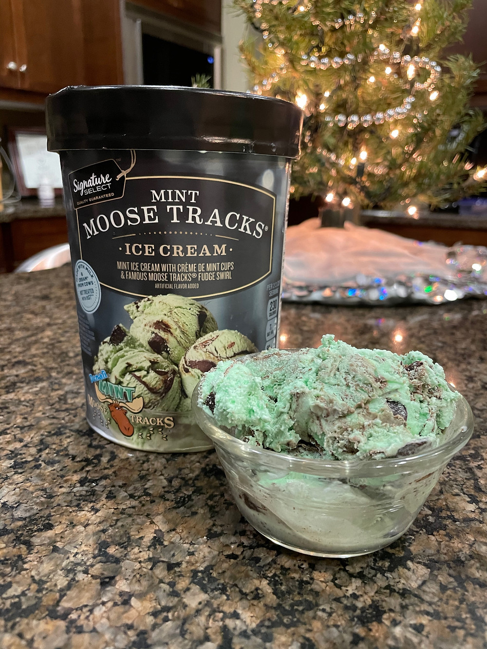 Green Grinch Mint Moose Max Tracks Ice Cream Dessert