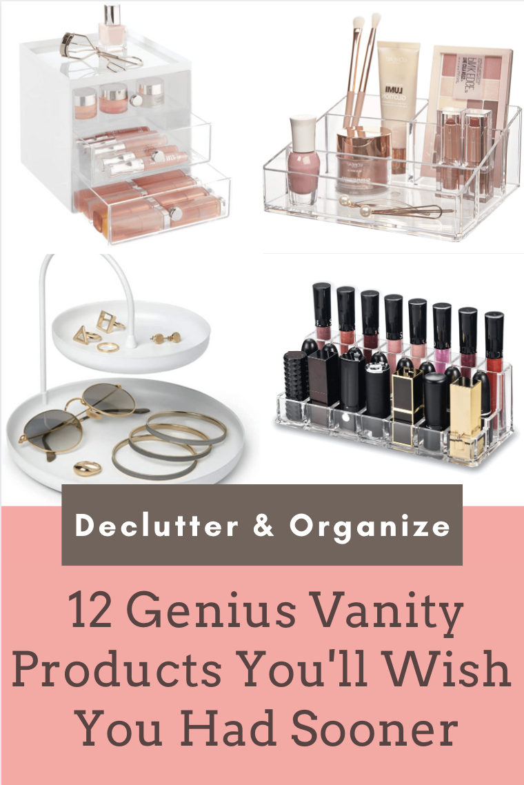 12 Genius products to organize your vanity makeup