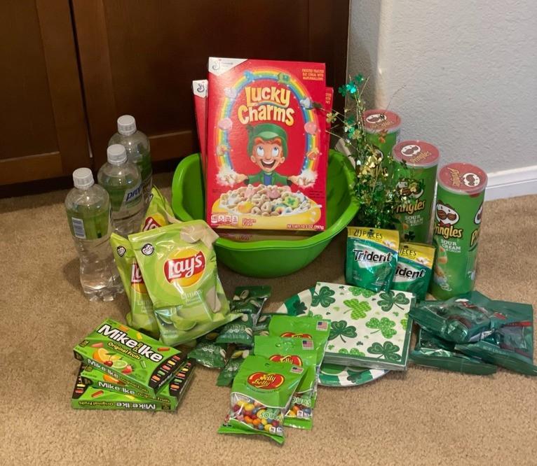 St Patrick's Day Treasure Food Ideas