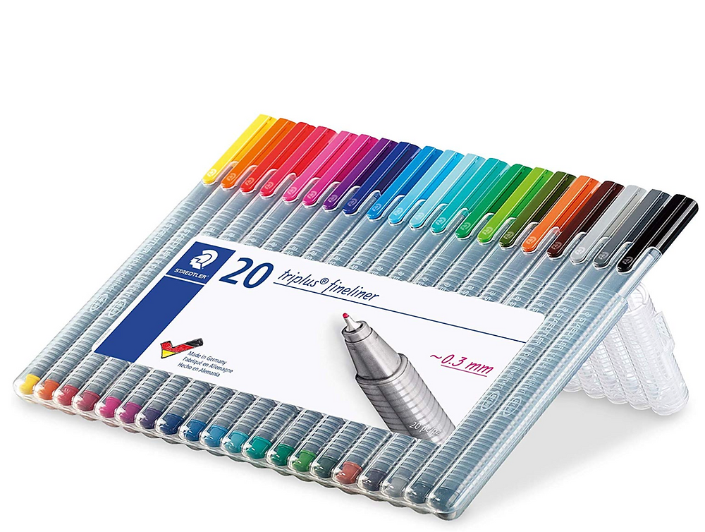 Fineline colored pens