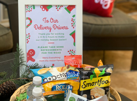 Spreading Holiday Cheer to Your Delivery Drivers - Christmas Good Deeds