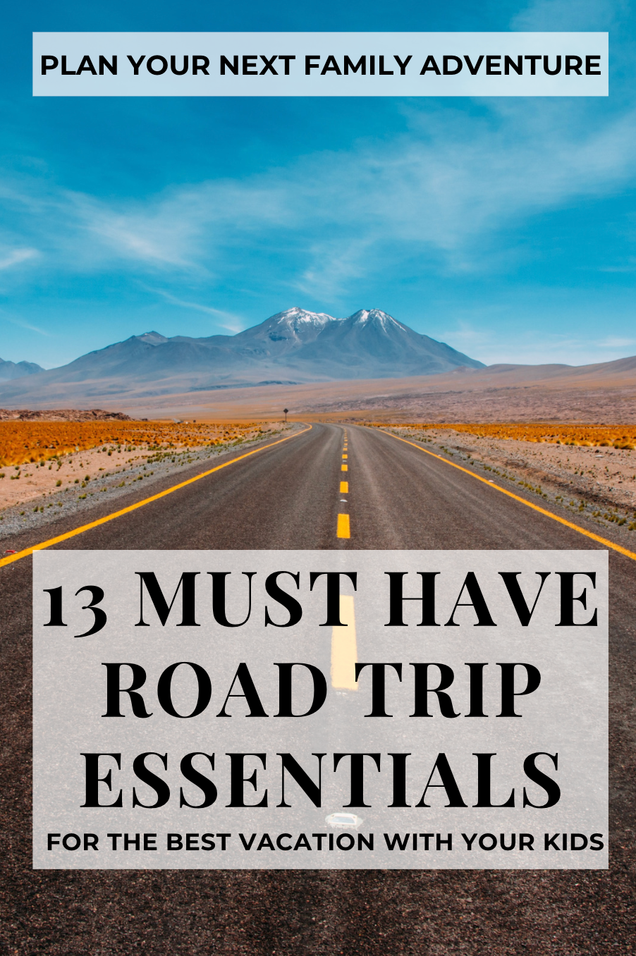 13 Must Have Road Trip Essentials