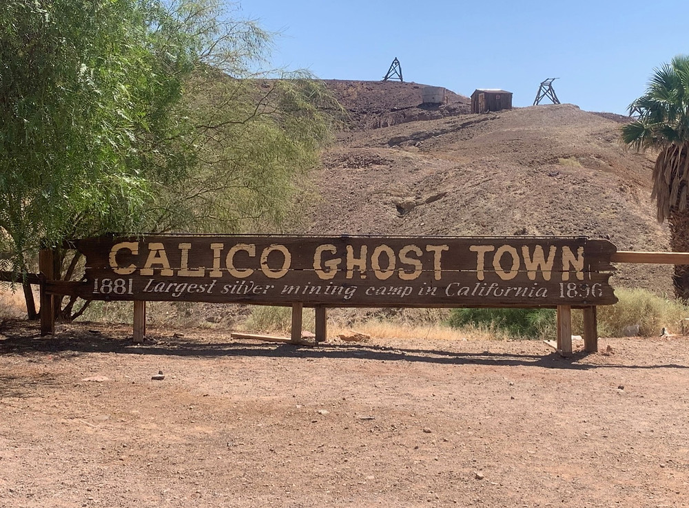 Calico Ghost Town sign