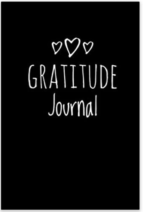 Black Gratitude Journal