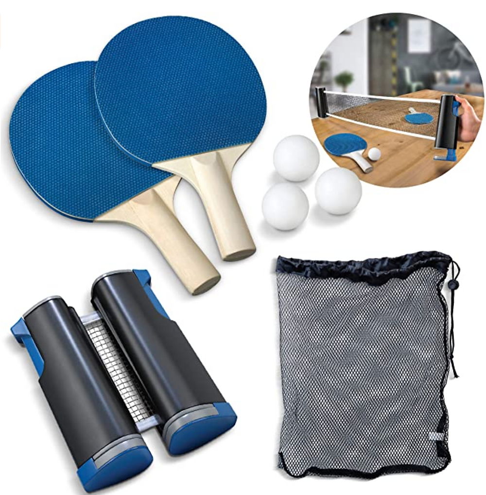 Tabletop tennis ping pong kit