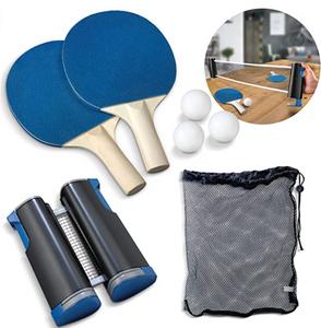 Tabletop tennis ping pong kit