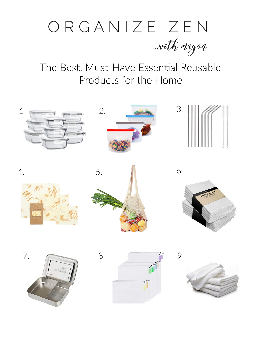 Top 9 Eco-Friendly Zero Waste Reusable Kitchen Products