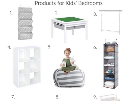 An Organized Child is a Happy Child - The Best Kid Bedroom Organizer Products