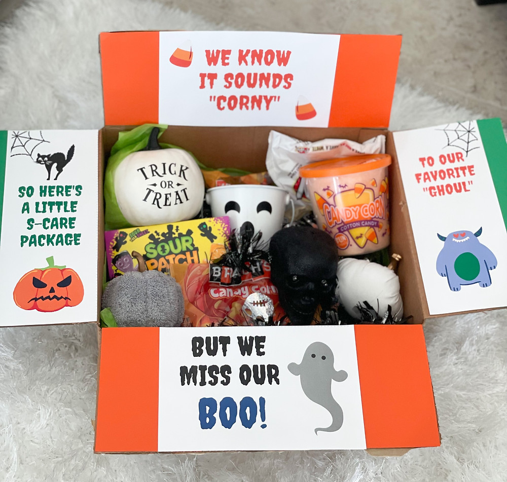 Halloween Themed College Care Package