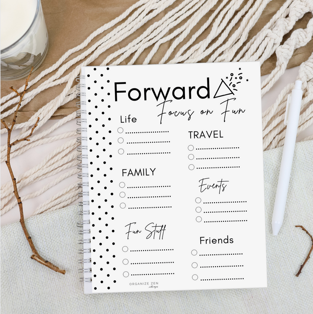 Forward Focus on Fun List Printable Worksheet