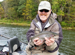 Fly Fishing Report for the Upper Delaware River and Catskill Rivers