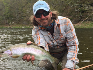 Upper Delaware Fly Fishing Report