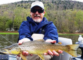Upper Delaware Fly Fishing Report