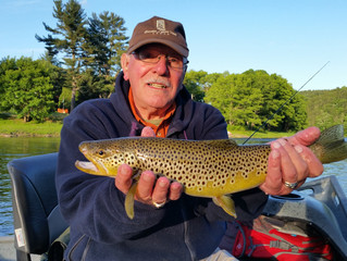 Fly Fishing Report for Upper Delaware and Catskill Rivers