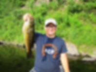 Delaware Smallmouth Bass, Bxter House Outfitters