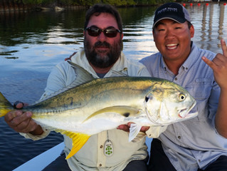 Fly Fishing Report for Tampa Bay