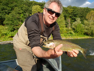 A Video Fly Fishing Report for the Upper Delaware and Catskill Rivers