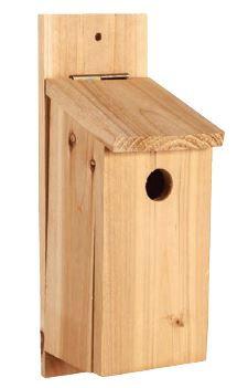 Wood Birdhouse - DIY Kit