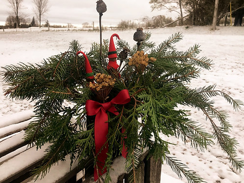 Christmas Elf Tabletop Arrangement