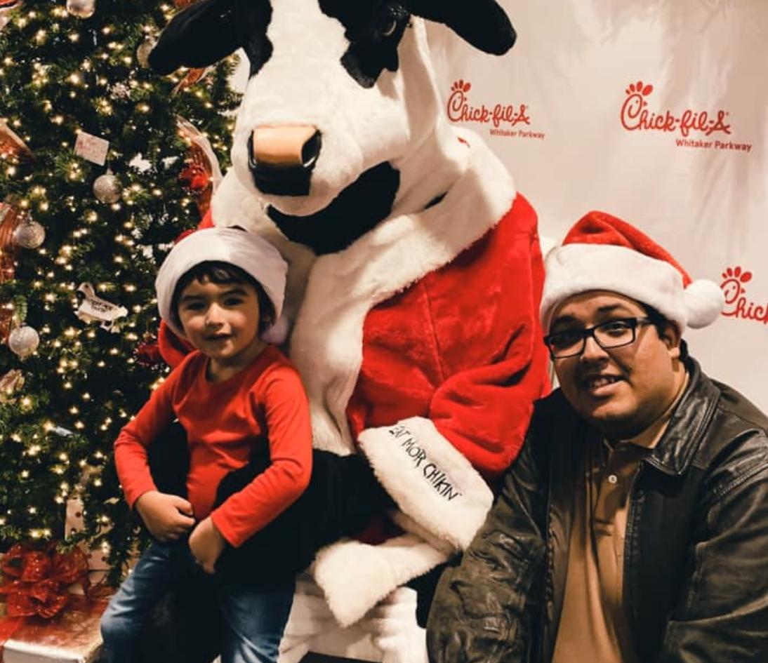 Dinner with Santa Cow // 2019