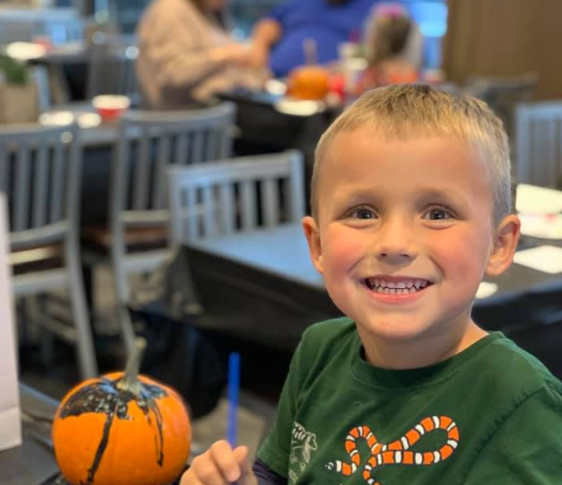 Pumpkin Painting Party // 2019