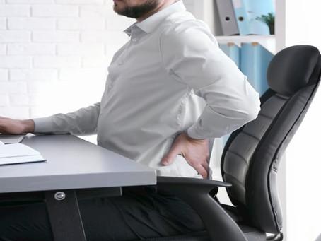 As 03 dicas para aliviar dores nas costas, ombros e punhos para quem trabalha muito tempo sentado!