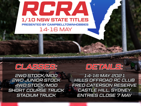 2021 RCRA NSW State Titles