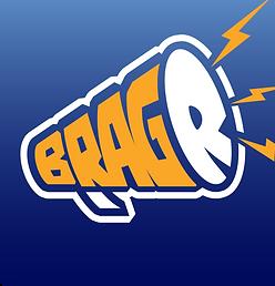 Bragr is the sports app pickem picks social media brag logo game sport best nfl nba nhl mlb football #bragr free to play install soccer f2p download